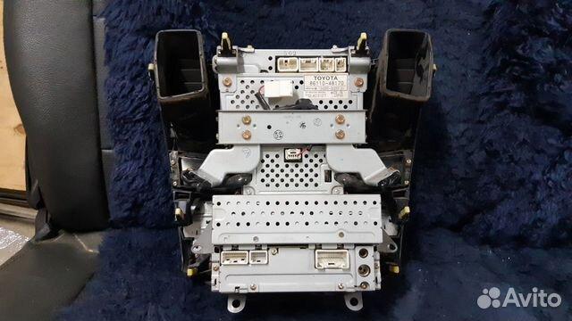 Магнитола с экраном от harrier 2003-2012 89085981328 купить 1