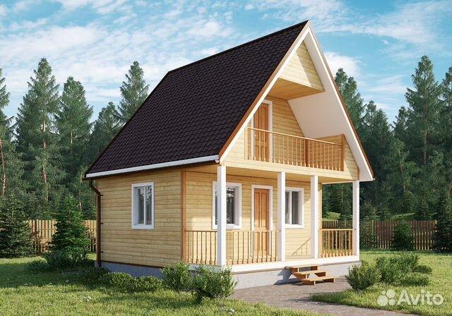 Строительство деревянных в кредит