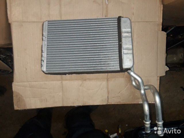 Мерседес W203 радиатор отопителя печки