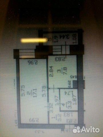 1-к квартира, 36 м², 3/9 эт. 89026716332 купить 1