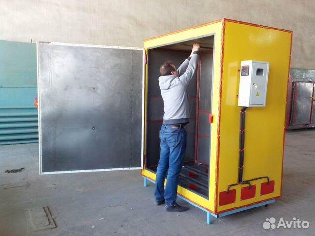 Camera powder coating KP-05-03-VTS