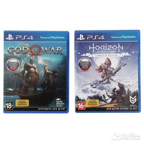 Новая Sony playstation 4 Pro+HZD/GOW запечатанная 89874729154 купить 6