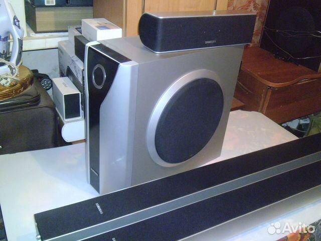Комплект Колонок Самсунг psws-800TE 4шт. 4ом купить 1