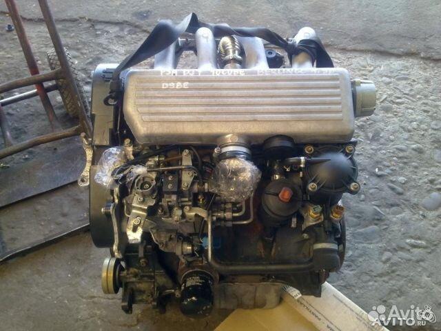 двигатель дизель peugeot xud - 9sd