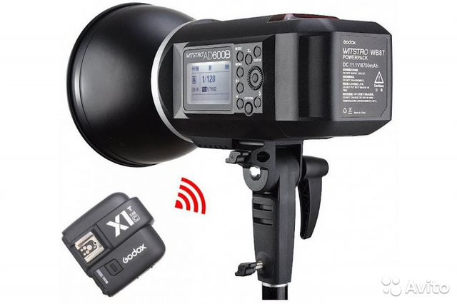 Студийная вспышка Godox Witstro AD600BM kit (х1)  купить 7
