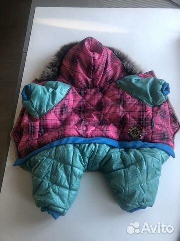 Теплая куртка для собаки 89297130666 купить 1
