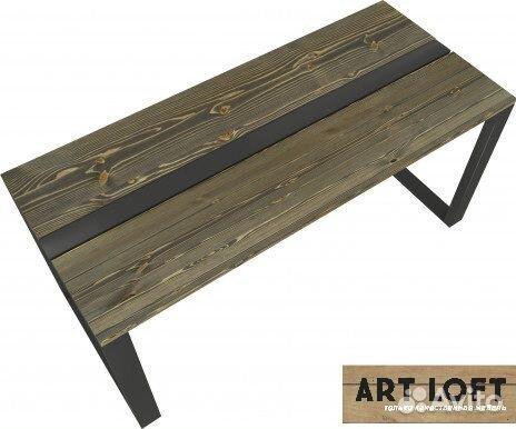 Обеденный стол в стиле лофт  89190883940 купить 1