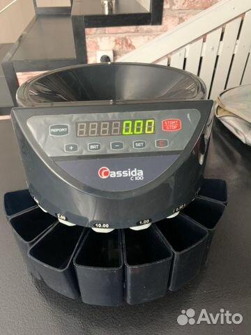 Счетчик-сортировщик монет Cassida C-100
