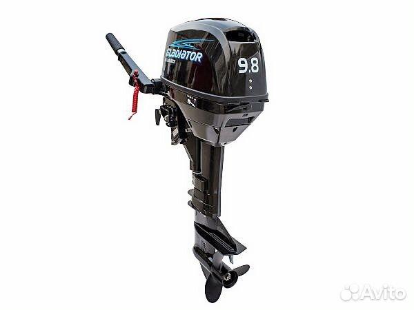 Лодочный мотор Gladiator G9,8FHS 89093877734 купить 1
