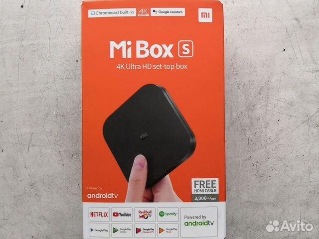 Тв приставка Xiaomi Mi Box S  купить 1