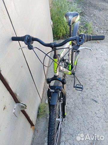 Велосипед горный с алюминиевой рамой  купить 9