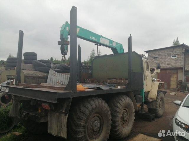 Услуги Урала лесовоза с кму  89241653347 купить 2