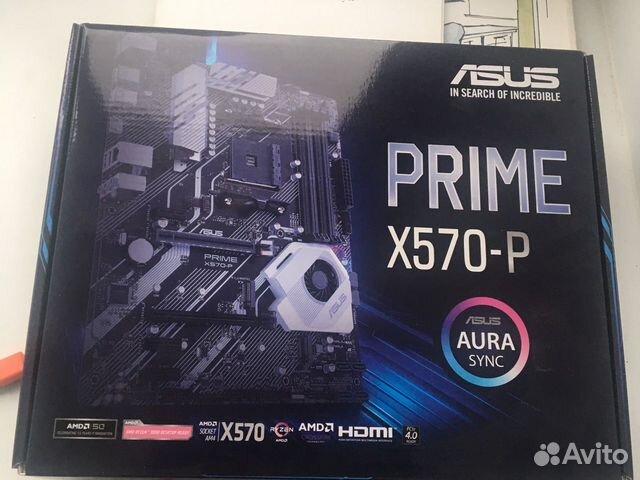 Материнская плата Asus Prime x570-p  89961026112 купить 1