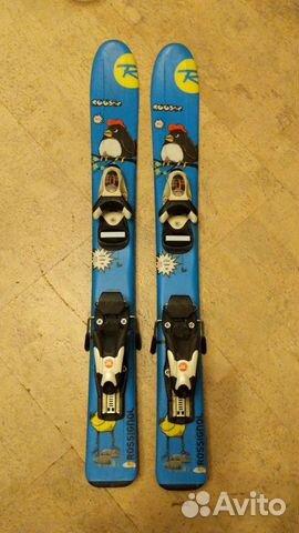 Горные лыжи детские 80 rossignol  89119556699 купить 1