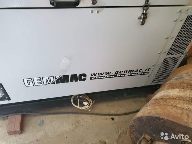 Генератор дизельный Genmac Bulldog RG20LSM (15.2 к  89215749212 купить 7