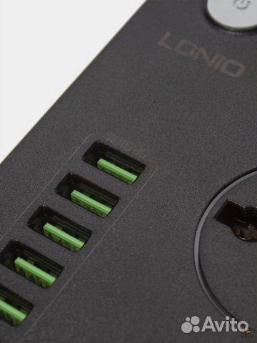 Cетевой фильтр (удлинитель) 3 розетки 6 USB
