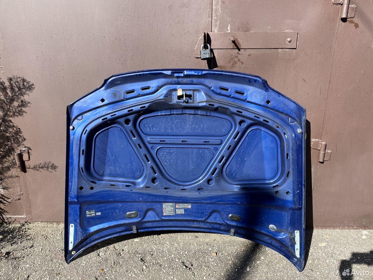 Капот синий Volkswagen Passat B5 + №2  89534684247 купить 4