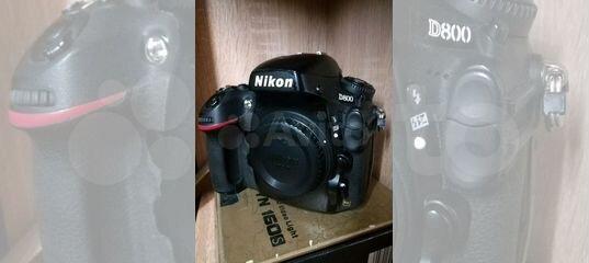 Nikon D800 купить в Брянской области с доставкой | Бытовая электроника | Авито