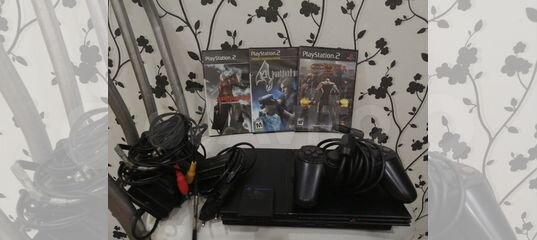 Sony Playstation 2 (+88 игр) возможен торг купить в Красноярском крае с доставкой | Бытовая электроника | Авито