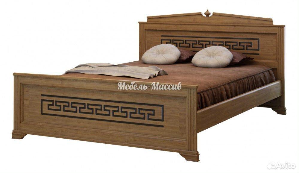 Кровать, матрас, тумба, комод из массива дерева  89023272899 купить 9