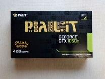 Palit GTX 1050ti 4gb dual oc (гарантия днс)