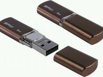 USB флешка Silicon Power LuxMini 720 8Gb, новая
