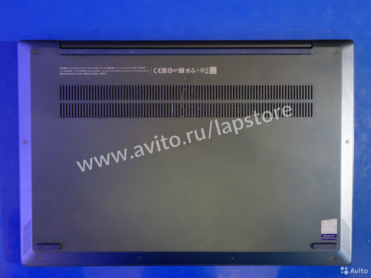 Ноутбук Lenovo S540 i5-10210/8G/512G SSD/MX250 2GB  84012422018 купить 8