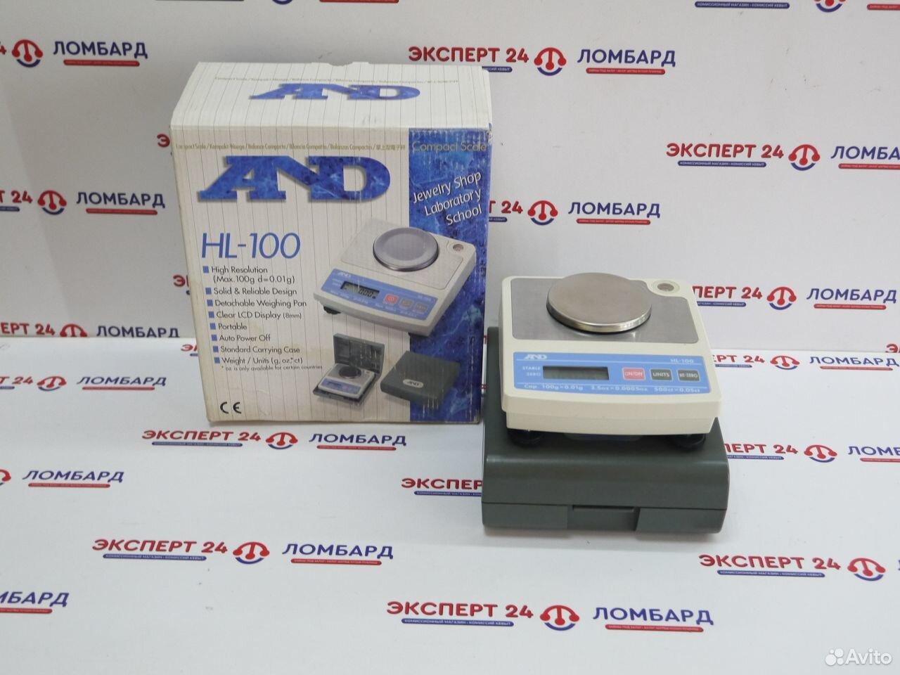 Точные весы AND HL-100 (А54,55)  89278834415 купить 1