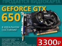 Видеокарта Palit GeForce GTX 650