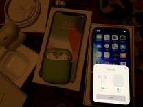 iPhone X 64 gb AirPods — Телефоны в Саратове