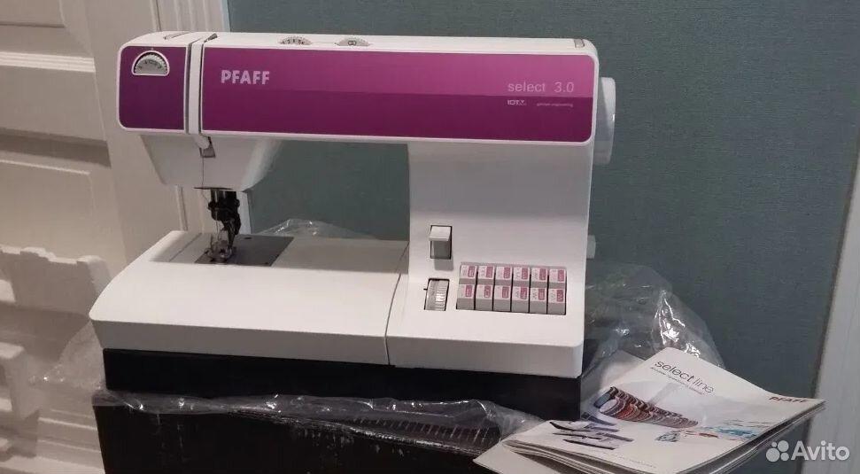 Швейная машинка Pfaff Select 3.0  89168629357 купить 1