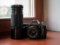 Фотоаппарат Canon T70 + объективы