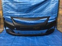 Hyundai Solaris 14-17г бампер передний