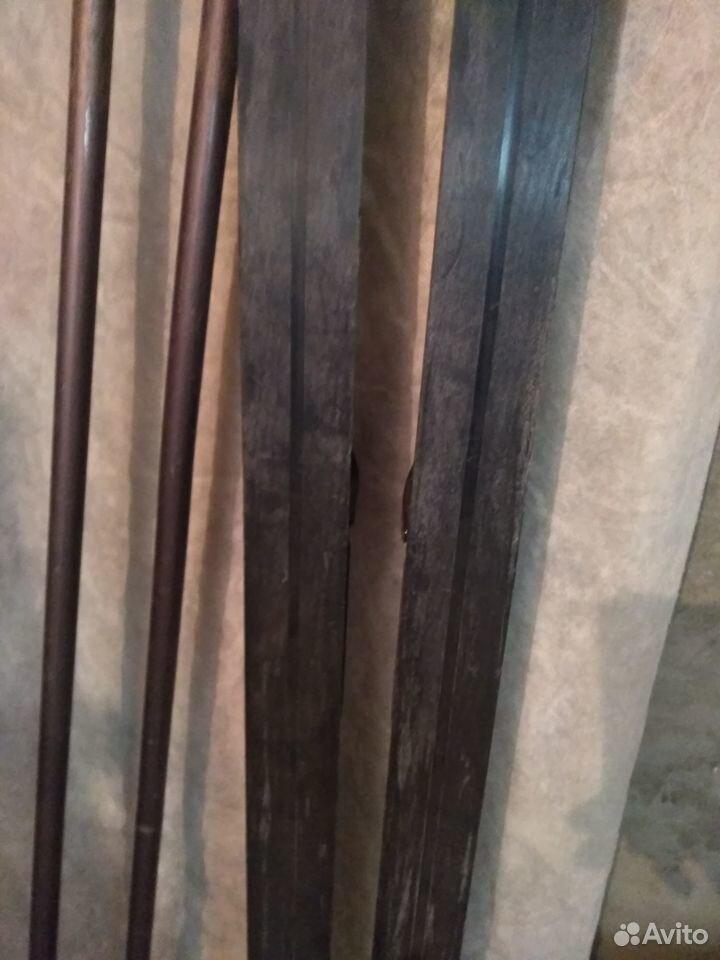 Лыжи беговые с креплениями и палками  89910752469 купить 9