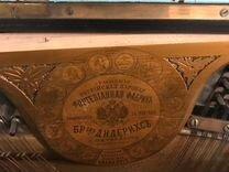 Старинное антикварное пианино