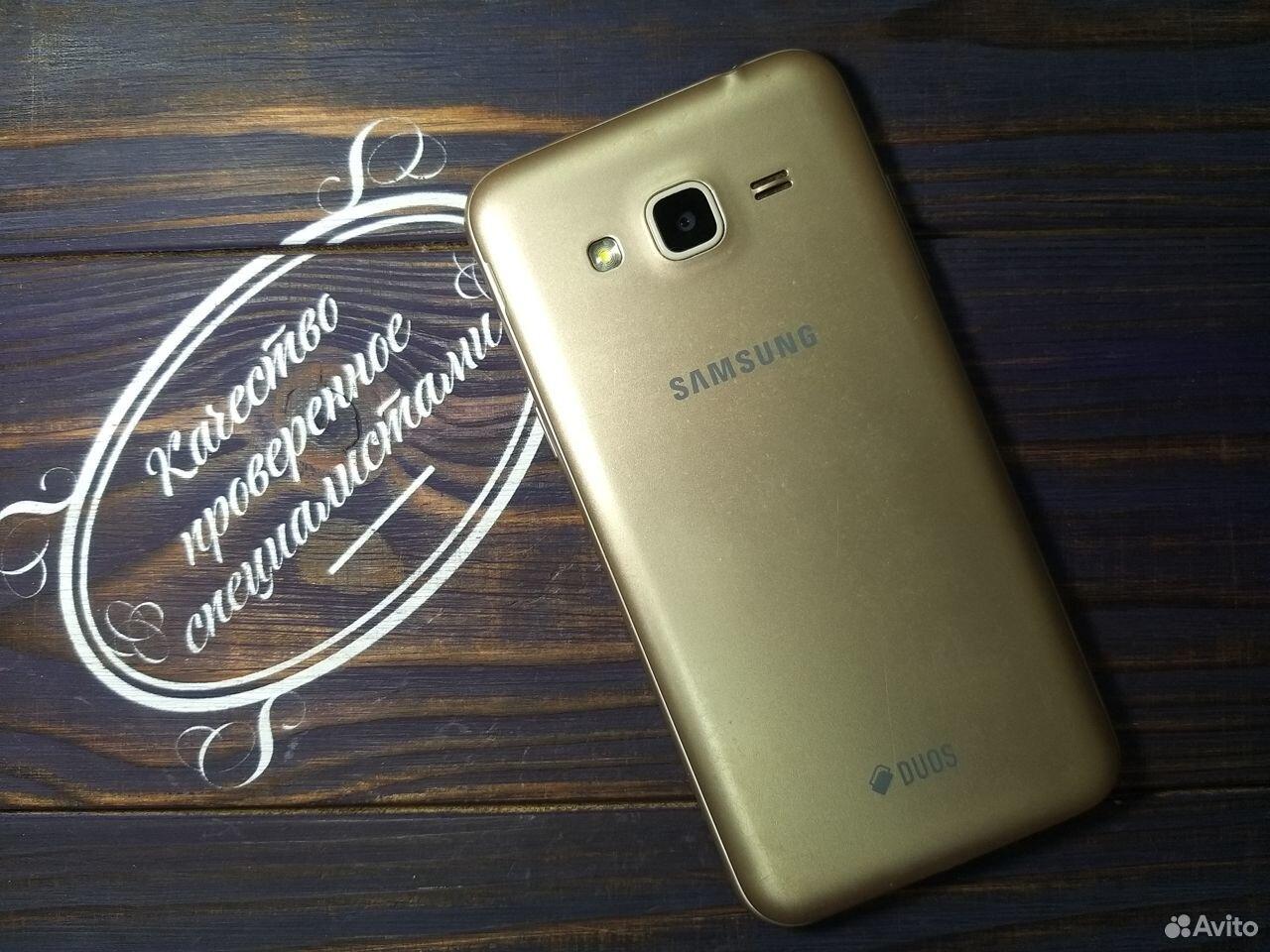 SAMSUNG SM-J320F Galaxy J3 Золотой