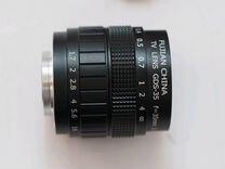 Cctv lens 35/1.7