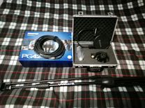 Shure pg42 с проводом стойкой и поп-фильтром