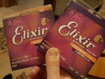 Струны Elixir Nanoweb для акустической гитары — Музыкальные инструменты в Геленджике