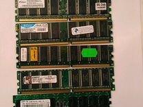 Оперативки ddr1 400Mhz(3200) 512Mb