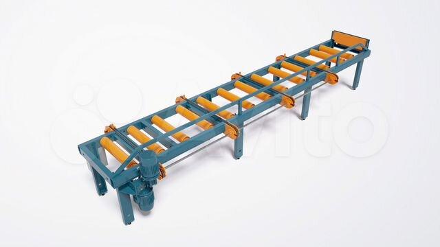 Рольганг приводной сброс оператор конвейерной линии оборудования