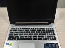 Офигенный ноутбук Asus K56C металлический i5 GT740