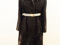 Красивая шуба из каракульчи swakara размер 50-52