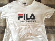 Оригинальная футболка Гоша Рубчинский x Fila