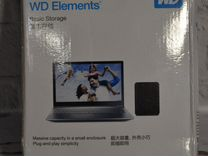 "Внешний жесткий диск 2.5"" WD Elements 500 gb"