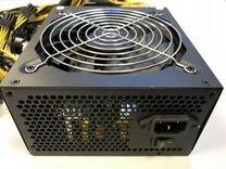 Блок питания для GPU ферм асик риг 1600 Вт ATX