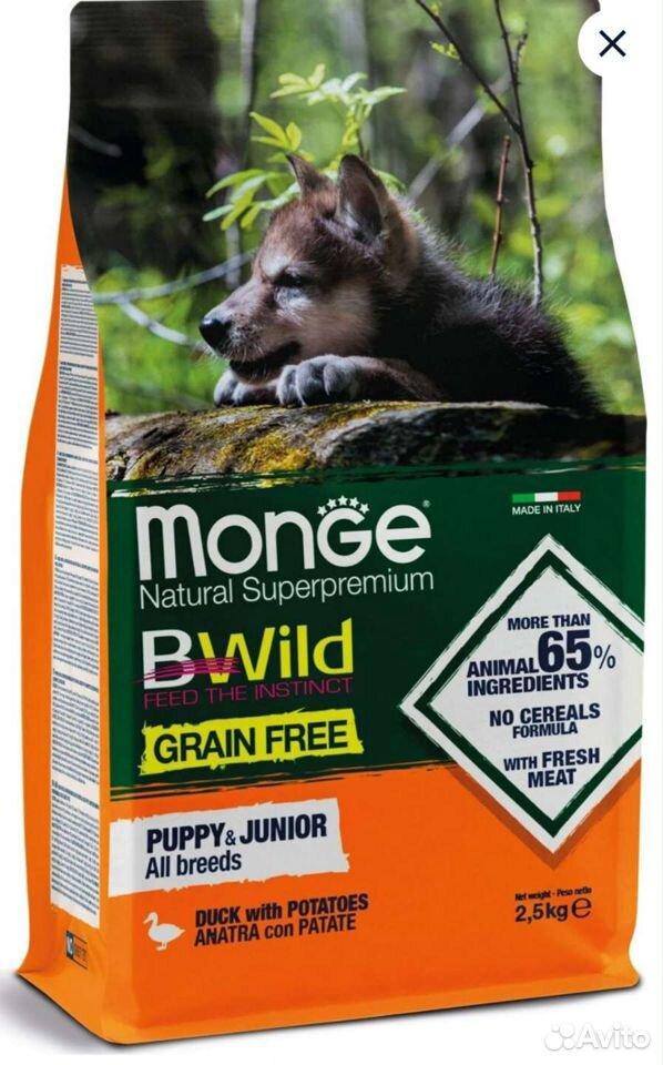 Корм для щенков Monge