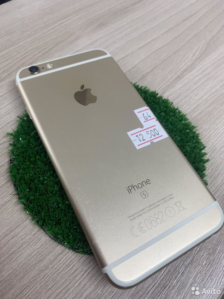 iPhone 6s 64gb Gold/Space Gray не реф