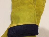 Перчатки сварочные спилковые