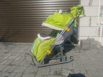 Санки-коляска Nika Kids